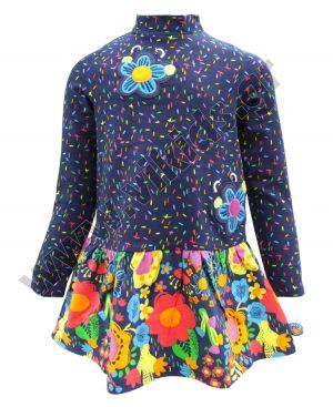 φόρεμα λουλούδια tuc tuc 50459
