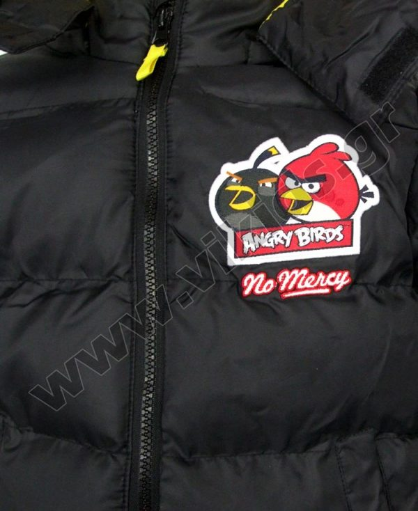 μπουφάν angry birds 1218 μαύρο