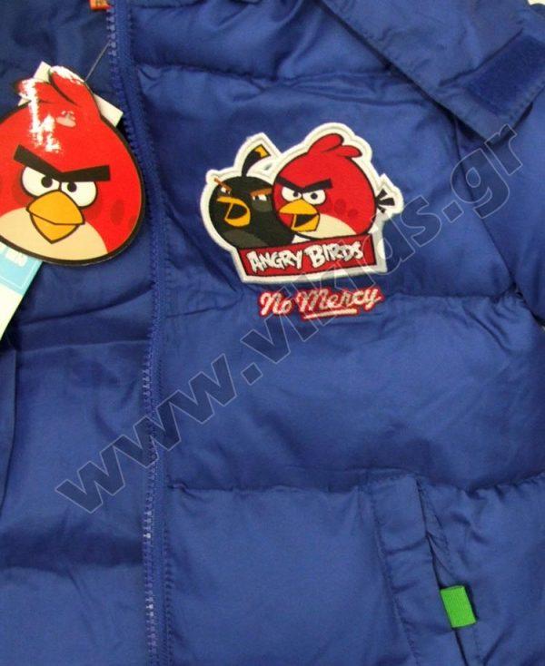μπουφάν angry birds 1218 μπλε ρουά
