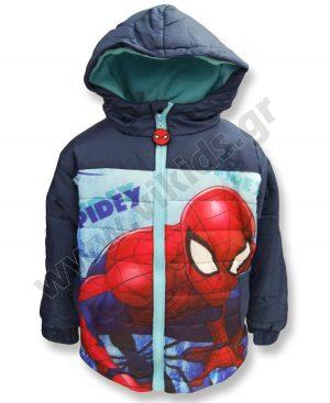 μπουφάν spiderman μπλε φλις επένδυση αγόρια
