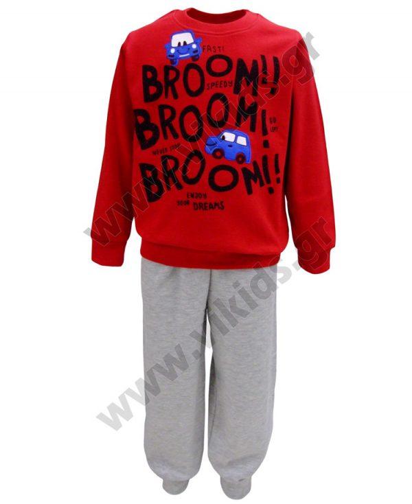 σετ πυτζάμες αγόρια BROOM BROOM19611