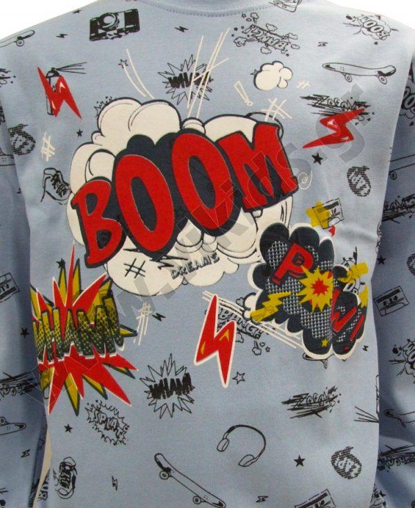 σετ πυτζάμες αγόρια BOOM 19806 dreams