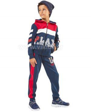 φόρμες φούτερ ζακέτα Hashtag 9755 αγόρια