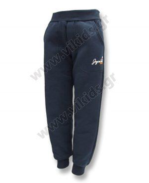 Παντελόνι φόρμας φούτερ Joyce 200140 μπλε