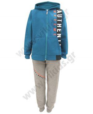 φόρμες φούτερ ζακέτα κουκούλα AUTHENTIC 93603