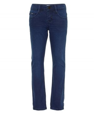 τζην πεντάτσεπο παντελόνι blue-black 6404
