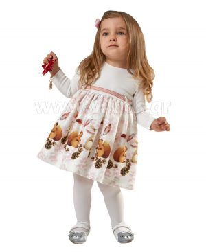 bebe φόρεμα ΣΚΙΟΥΡΑΚΙΑ EBITA 9510
