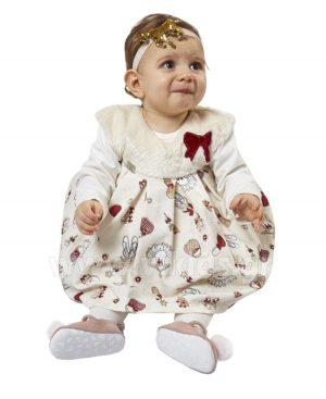 σετ αμάνικο φορεμα μπλούζα 9503 EBITA