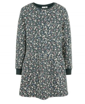 Φόρεμα φούτερ ανθάκια nameit 8137