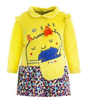 βελουτέ φόρεμα ZZZ tuc tuc 50081