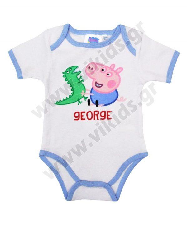κοντομάνικα κορμάκια GEORGE 5652 peppa pig
