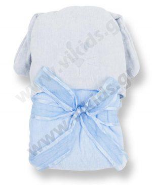 μπουρνούζι πετσέτα mayoral 9432 σιέλ