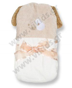 μπουρνούζι πετσέτα mayoral 9432 εκρού