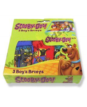 σετ 3 σλιπάκια SCOOBY-DOO 5217 αγόρια