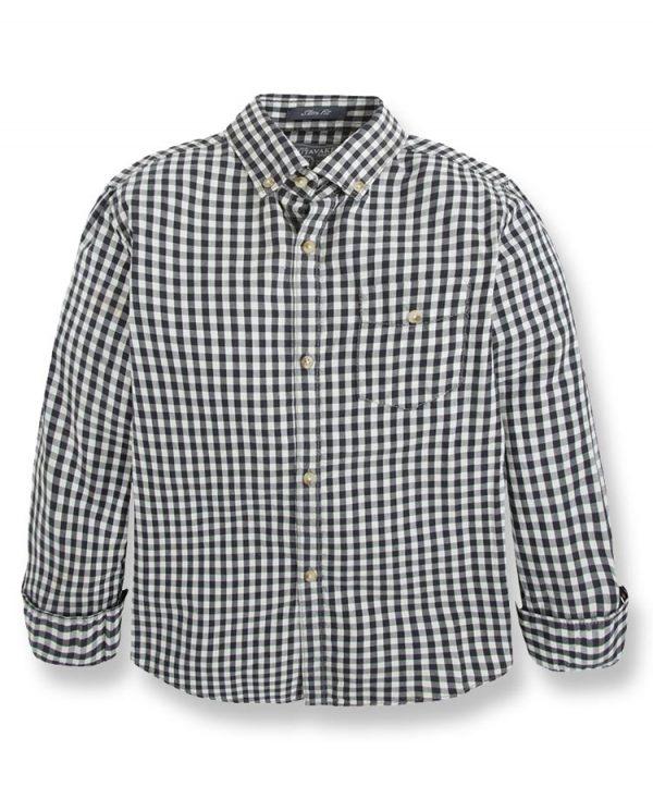 μακρυμάνικο πουκάμισο πτι καρώ 7133 αγόρια
