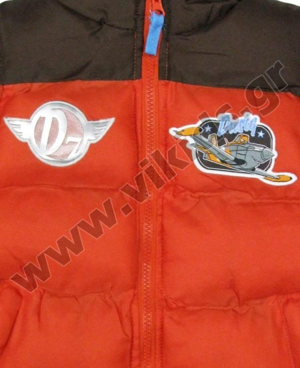 αμάνικο μπουφάν Disney PLANES 1213 πορτοκαλί