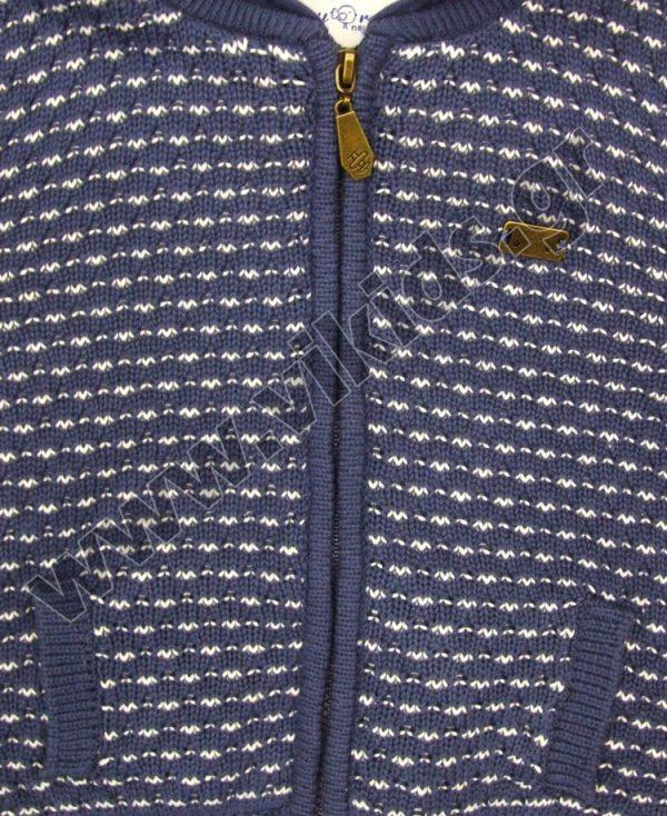 βρεφική ζακέτα μπουφάν mayoral 2318 μπλε