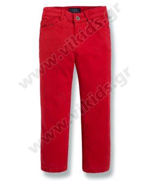φοδραρισμένο παντελόνι mayoral 4532 για αγόρια