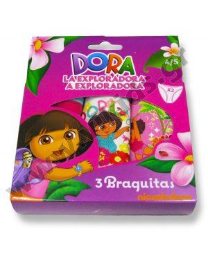 σετ 3 κυλοτάκια DORA 3047 κορίτσια