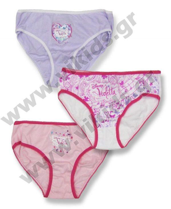 σετ 3 κυλοτάκια Disney Violetta OE3035