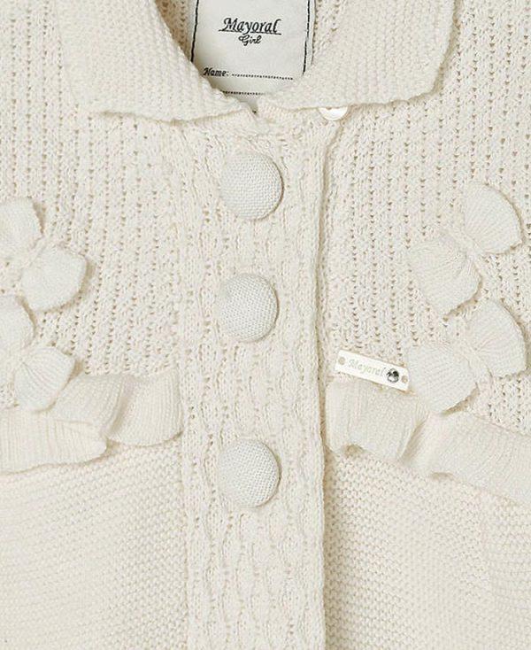 βρεφικό πλεκτό παλτό ζακέτα mayoral 2466