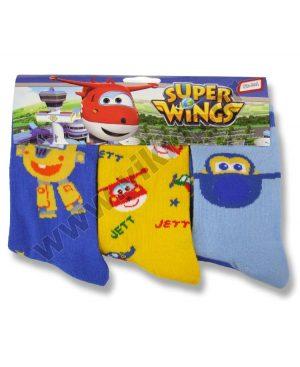3 ζευγάρια κάλτσες SUPER WINGS 48971