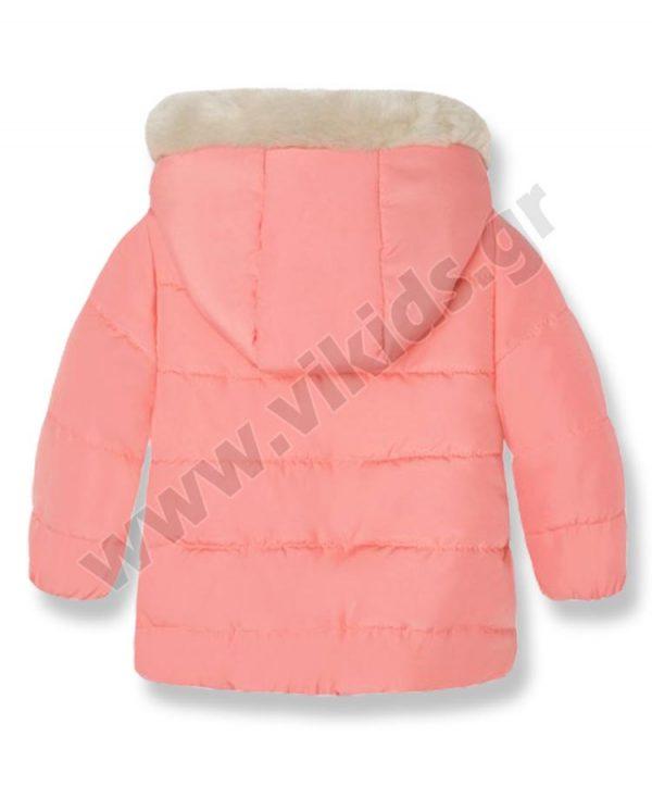 Βρεφικό παλτό τζάκετ Mayoral 2442 σομόν