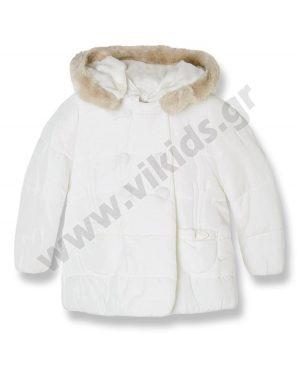 Βρεφικό παλτό τζάκετ Mayoral 2442 υπόλευκο