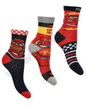 3 ζευγάρια κάλτσες CARS McQUEEN 06411