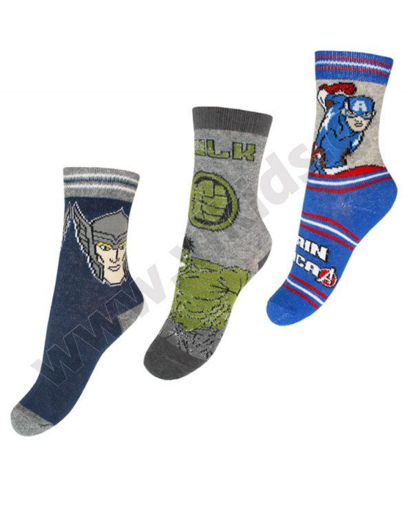 3 ζευγάρια κάλτσες Marvel AVENGERS 6451
