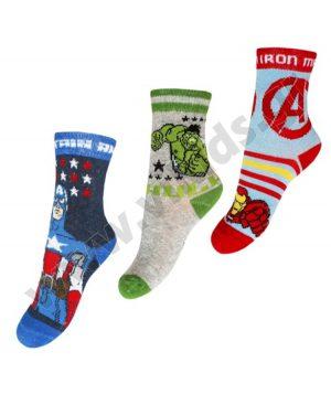 3 ζευγάρια κάλτσες Marvel AVENGERS 6452