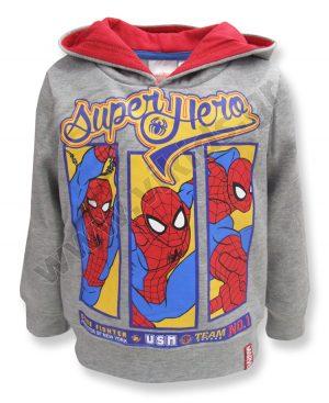 μπλούζα φούτερ κουκούλα SPIDERMAN Superhero 10611