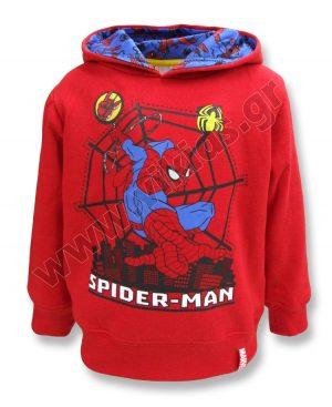 μπλούζα φούτερ κουκούλα marvel SPIDERMAN 14261