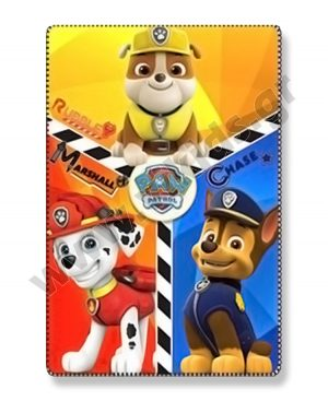 κουβέρτα fleece PAW PATROL 41772