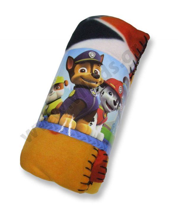 κουβέρτα fleece PAW PATROL 41772