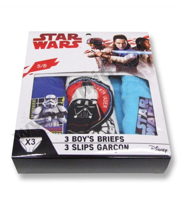3 σλιπάκια STAR WARS 3075 αγόρια