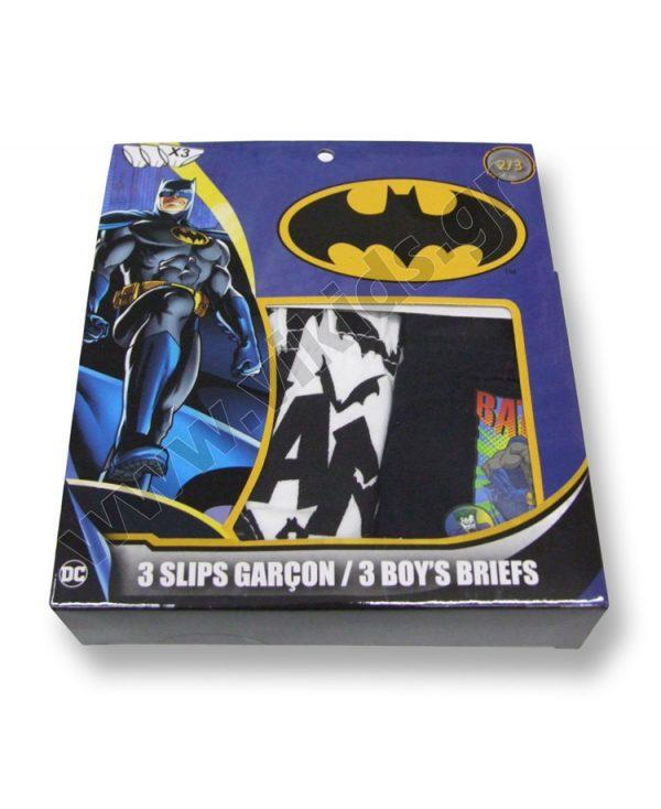 σετ 3 σλιπάκια BATMAN 3079 αγόρια