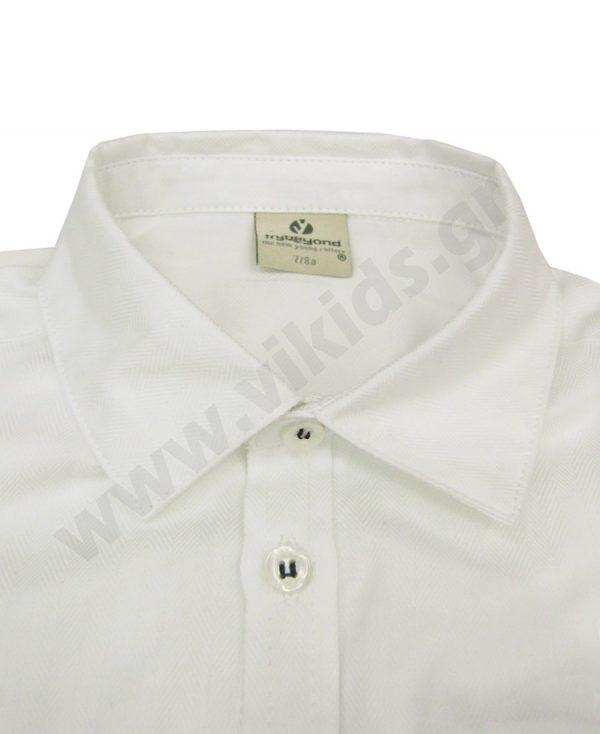 μακρυμάνικο ιβουάρ πουκάμισο 50492 trybeyond αγόρια