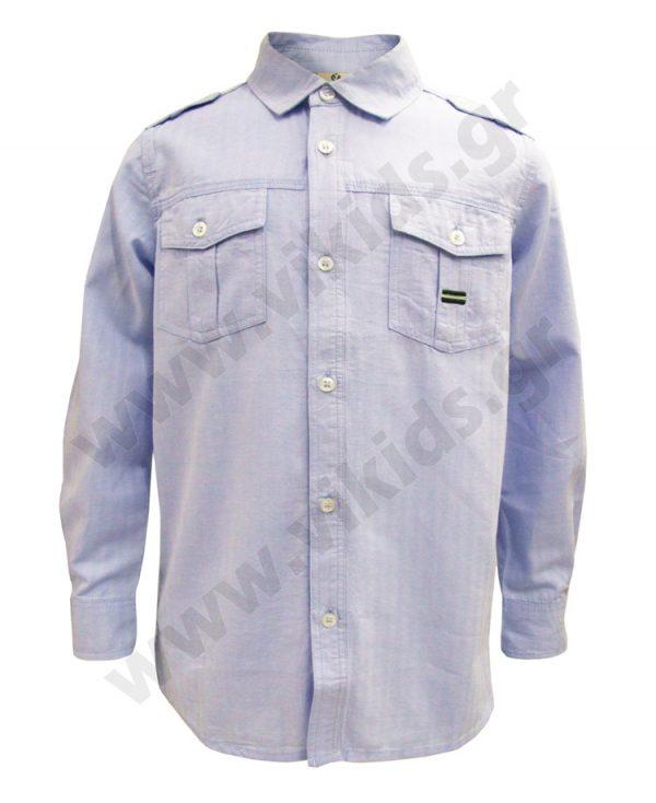 μακρυμάνικο πουκάμισο επωμίδες 50494 trybeyond αγόρια