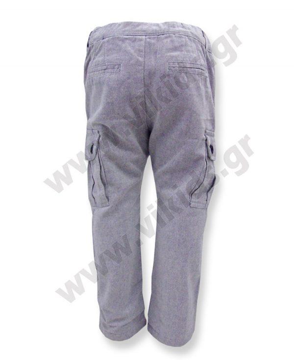 φοδραρισμένο παντελόνι cargo 52016 αγόρια