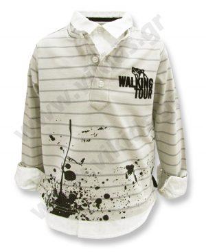 μπλούζα πουκάμισο ρίγες 54797 αγόρια