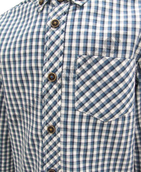 καρώ πουκάμισο zippy ZB15431 πράσινο