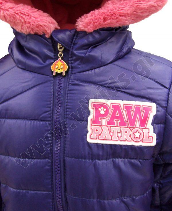 τζάκετ paw patrol 1136 μωβ κορίτσια