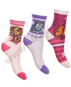 3 ζευγάρια κάλτσες PAW PATROL 6341