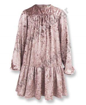 βελουτέ φόρεμα elegant 55581 OUTLET