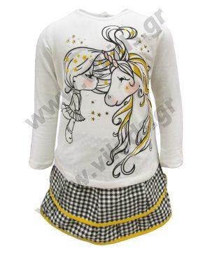 σετ ΜΟΝΟΚΕΡΟΣ μπλούζα φούστα 59046 birba