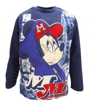 μακρυμάνικη μπλούζα MICKEY MOUSE 46814 μπλε