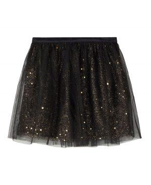 φούστα τούλι glitter 2244 nameit μαύρο