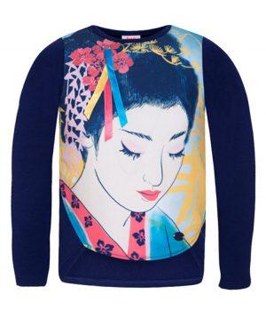 μακρυμάνικη μπλούζα GEISHA 50589 tuc tuc