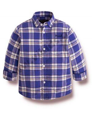 μακρυμάνικο καρώ πουκάμισο mayoral 4146 αγόρια